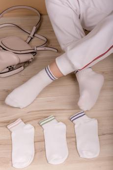 Комплект белых носков (3 шт.) Натали