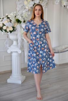 Новинка: хлопковый халат на молнии Lika Dress