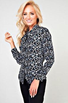 Леопардовая рубашка Angela Ricci